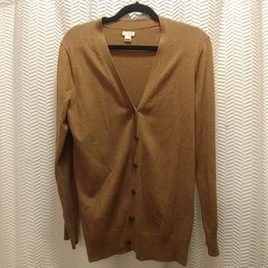 Jcrew camel sweater size small